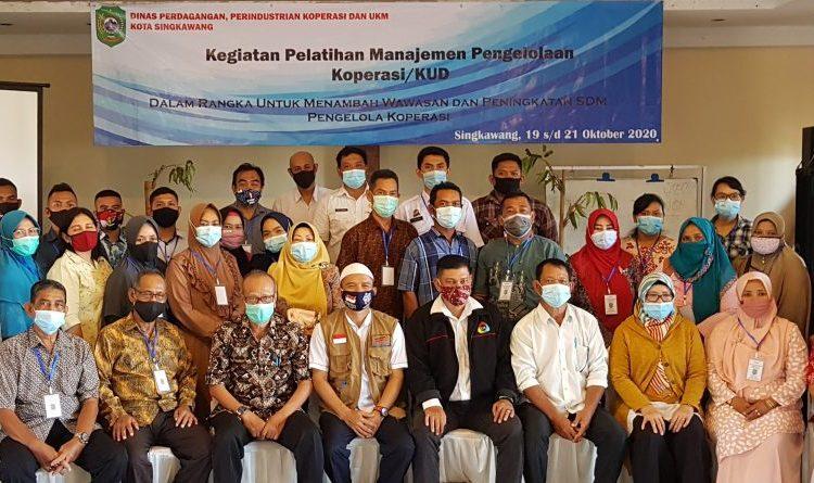 Pemerintah Kota Singkawang Konsisten Bina Koperasi Saat Pandemi Covid-19
