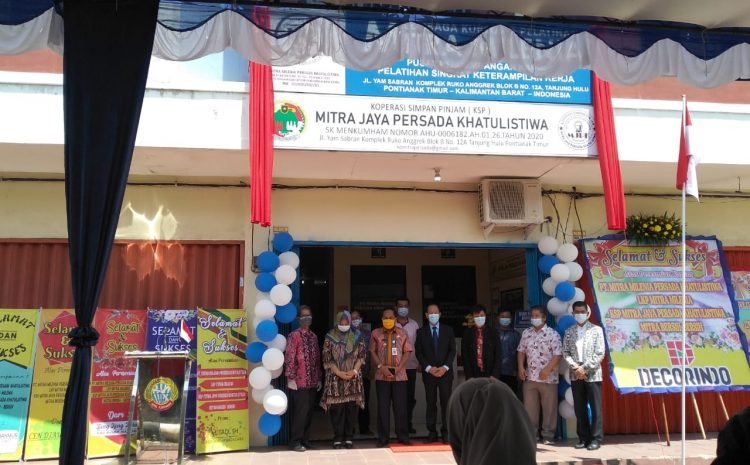 Peresmian kantor KSP Mitra Jaya Persada Khatulistiwa