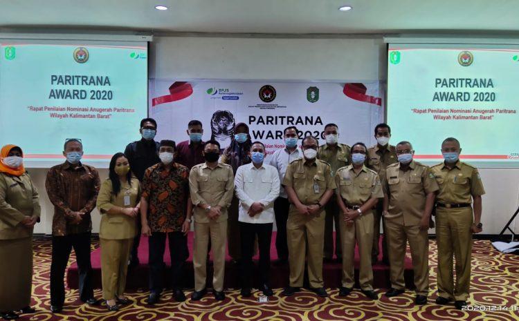 Paritrana Award tahun 2020