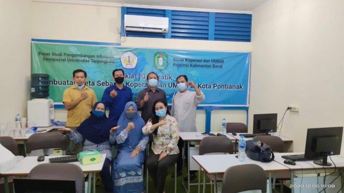 Dinas Koperasi UKM Provinsi Kalbar Menuju Sistem Informasi Data Geospasial Tahun 2021