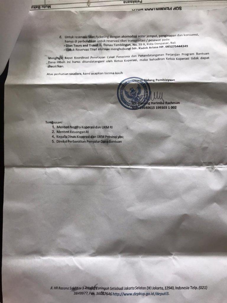 Pemberitahuan Terkait Penipuan - Dinas Koperasi, Usaha ...