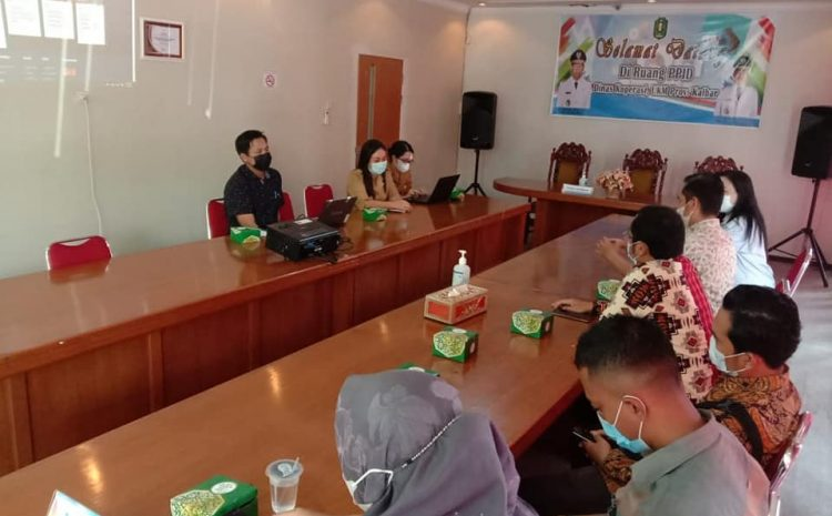 Kunjungan Komisioner dari Komisi Informasi Kalbar beserta ...