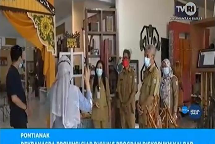 Dekranasda Provinsi Siap Dukung Program DiskopUKM Kalbar ...